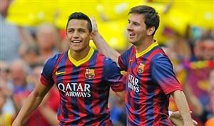 برترین گلهای الکسیس سانچز با پیراهن بارسلونا