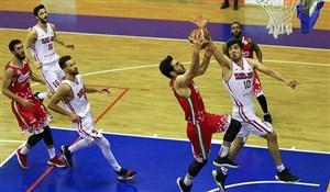 مهرام، برنده میلیمتری دیدار چهارم نیمه نهایی بسکتبال