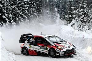 رالی قهرمانی جهان در جادههای یخزدهی سوئد