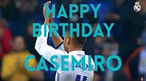 به مناسبت سالروز تولد 26 سالگی کاسمیرو