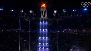 تصاویر دیدنی از مراسم اختتامیه المپیک زمستانی 2018 (بخش اول)