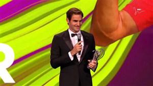راجر فدرر جایزه «بهترین بازگشت سال» را از آن خود کرد(لاروس)