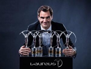 راجر فدرر جایزه «برترین ورزشکار سال» را از آن خود کرد(لاروس)