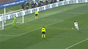 ضربات پنالتی بازی میلان 5 - لاتزیو 4