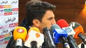کنفرانس خبری دیدار پدیده مشهد - سپید رود رشت
