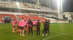 گزارشی از آخرین تمرین تراکتور سازی قبل از بازی الجزیره