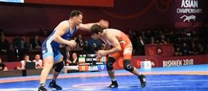 مدال های کشتی گیران ایرانی در مسابقات قهرمانی قرقیزستان