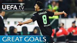 5 گل به یاد ماندنی رقابتهای لیگ اروپا( یک هشتم نهایی)