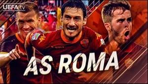 برترین گلهای آ اس رم در لیگ قهرمانان و جام یوفا
