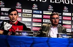 کنفرانس خبری پرسپولیس بعد از بازی با الوصل امارات