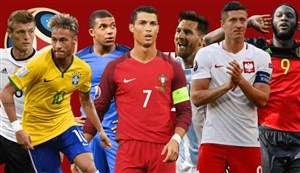 بهترین گل تیمهای راه یافته به جام جهانی در بازی های مقدماتی