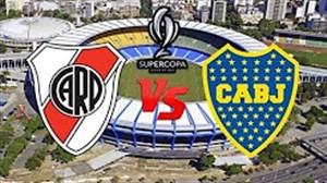 خلاصه بازی بوکاجونیورز 0 - ریورپلاته 2  ( سوپر کلاسیکو آرژانتین )