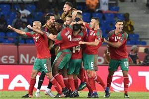 پیروزی مراکش مقابل صربستان در تورین