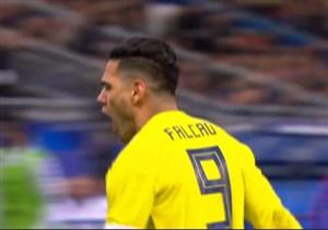 گل دوم کلمبیا به فرانسه ( فالکائو)