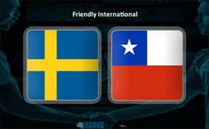 خلاصه بازی سوئد 1 - شیلی 2