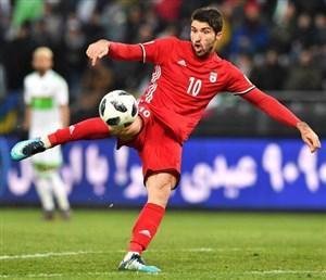 گل انصاری فرد به لیتوانی قبل از جام جهانی ( اختصاصی)