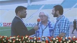 مصاحبه شفر و افاضلی بعد از بازی استقلال - نفت تهران