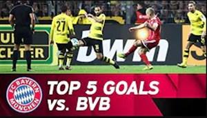 5 گل برتر بایرن مونیخ در تقابل با دورتموند