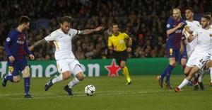 ترکیب بارسلونا برای دیدار با رم اعلام شد