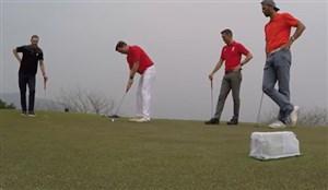گلف بازی کردن اسطوره های لیورپول