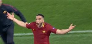 گل سوم آ اس رم به بارسلونا (مانولاس)