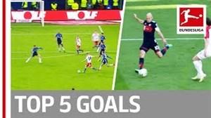 5 گل برتر بونسلیگا در هفته بیست و نهم