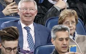 هدف فرگوسن از حضور در ورزشگاه رم چه بود؟