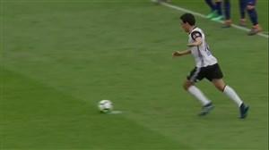گل اول والنسیا به بارسلونا (پارِخو)