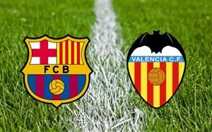 خلاصه بازی بارسلونا 2 - والنسیا 1