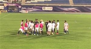 تمرین استقلال در ورزشگاه یرموک کویت (اختصاصی)
