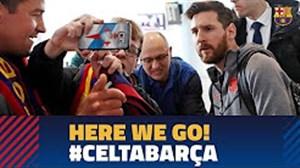 سفر تیم بارسلونا برای دیدار با سلتاویگو