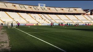 ورزشگاه یادگار خالی ازتماشاچی در آخرین بازی آسیایی تراکتور