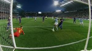 گل اول سلتاویگو به بارسلونا (کاسترو)