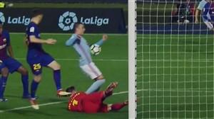 گل دوم سلتاویگو به بارسلونا (ایاگو آسپاس)