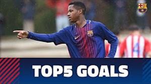 5 گل برتر آکادمی بارسلونا (29-01-97)