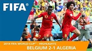 مرور جام جهانی 2014 - ( بلژیک 2 - الجزایر 1)