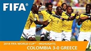 مرور جام جهانی 2014 - ( کلمبیا 3 - یونان 0 )