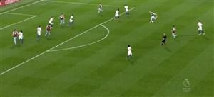 گل اول برنلی به چلسی روی شوت فوق العاده بارنز