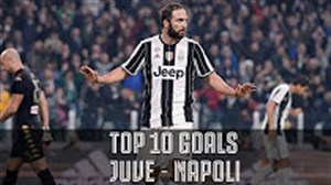 10 گل برتر یوونتوس مقابل ناپولی در 60 سال اخیر
