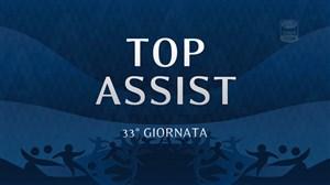 پاس گلهای برتر هفته 33 سری آ ایتالیا