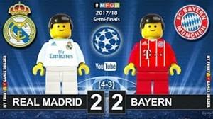 شبیه سازی لگو دیدار رئال مادرید - بایرن مونیخ