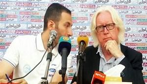 کنفرانس خبری پس از بازی سرمربیان استقلال - السد