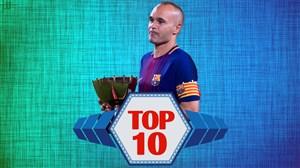 تاپ ۱۰ | 10 لحظه فراموش نشدنی دوران فوتبالی آندرس اینیستا