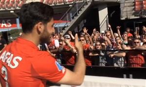 جهانبخش و کفشطلای لیگ هلند در میان هواداران