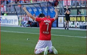 تمام گلهای علیرضا جهانبخش در لیگ هلند فصل 2017-2018