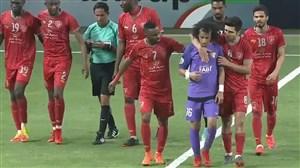 خلاصه بازی العین امارات 2 - الدحیل قطر 4