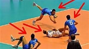 سیوهای فوق العاده در ورزش والیبال