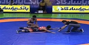 محمدرضاگرایی-حامد تاب فینال اول وزن 67 کلیوگرم