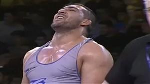 فینال کشتی انتخابی تیمملی وزن 97 (گلیج-گودرزی)