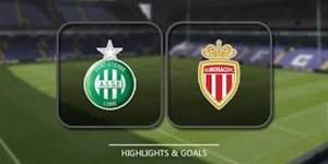 خلاصه بازی موناکو 1 - سنت اتین 0